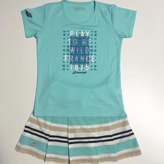 バボラ(Babolat)の美品 バボラ スコート Tシャツセット M BTWNJE03 BTWNJA31(ウェア)