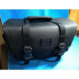 ハクバ(HAKUBA)の値下げ!HAKUBA カメラバッグ ショルダーM 8.3L ブラック(ケース/バッグ)