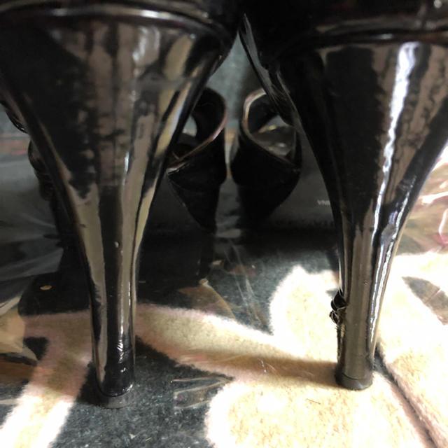 DURAS(デュラス)のDURAS  エナメルパンプス  24cm レディースの靴/シューズ(ハイヒール/パンプス)の商品写真