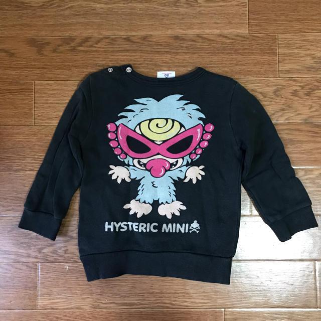 HYSTERIC MINI(ヒステリックミニ)のヒステリックミニ トレーナー キッズ/ベビー/マタニティのベビー服(~85cm)(トレーナー)の商品写真