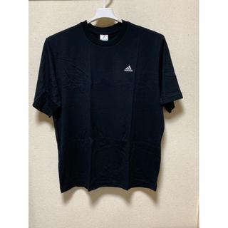 アディダス(adidas)のAdidas  半袖丸首 黒-Tシャツ XO(チェスト101~107)c(Tシャツ/カットソー(半袖/袖なし))