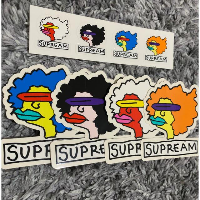Supreme(シュプリーム)のsupreme gonz ステッカー 自動車/バイクのバイク(ステッカー)の商品写真