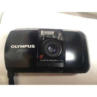 オリンパス(OLYMPUS)のOLYMPUS μ 単焦点 f3.5(フィルムカメラ)