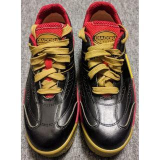 ディアドラ(DIADORA)のディアドラ安全作業靴 ピーコック 黒/ 赤 26.0cm PC22260(スニーカー)