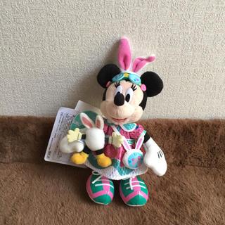 ミニーマウス - TDL☆ディズニー イースター 2019☆ミニー☆ぬいぐるみバッジぬいばうさたま