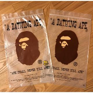 アベイシングエイプ(A BATHING APE)の【送料込み】ストリートブランド 各種袋セット(その他)