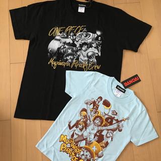 バンダイ(BANDAI)の【お値下げ】OnePiece ワンピース 麦わらの一味Tシャツ(Tシャツ/カットソー(半袖/袖なし))