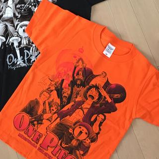 バンダイ(BANDAI)のOnePiece ワンピース 麦わらの一味Tシャツ 親子ペア(Tシャツ/カットソー(半袖/袖なし))