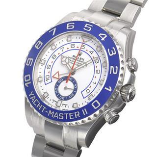 ヨットマスター II 116680 [オイスターブレスレット 白針 ホワイト](その他)