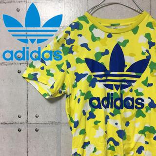 アディダス(adidas)の【大人気】アディダス adidas トレフォイルロゴ  Tシャツ L(Tシャツ/カットソー(半袖/袖なし))