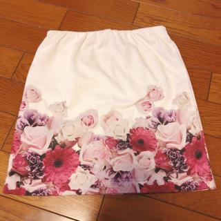 ダチュラ(DaTuRa)のDaTuRa タイトスカート スカート 花柄(ミニスカート)