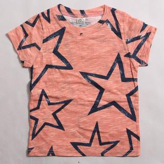 お星様Tシャツ ピンク 110size(Tシャツ/カットソー)