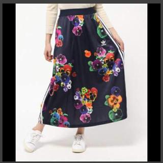 【激レア】adidas originals 花柄 ロングスカート