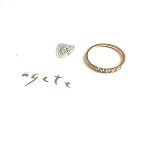 アガット(agete)のagate ダイヤモンドリング(リング(指輪))