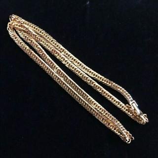 ジュエリーツツミ(JEWELRY TSUTSUMI)のTSUTSUMI K18 喜平ネックレス 6面 ゴールド 金無垢 18k(ネックレス)