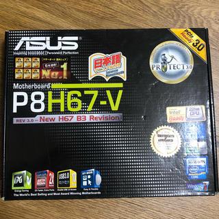 エイスース(ASUS)のP8H67-V(PCパーツ)