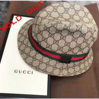 グッチ(Gucci)のGUCCI グッチ バケットハット 帽子 正規品(ハット)
