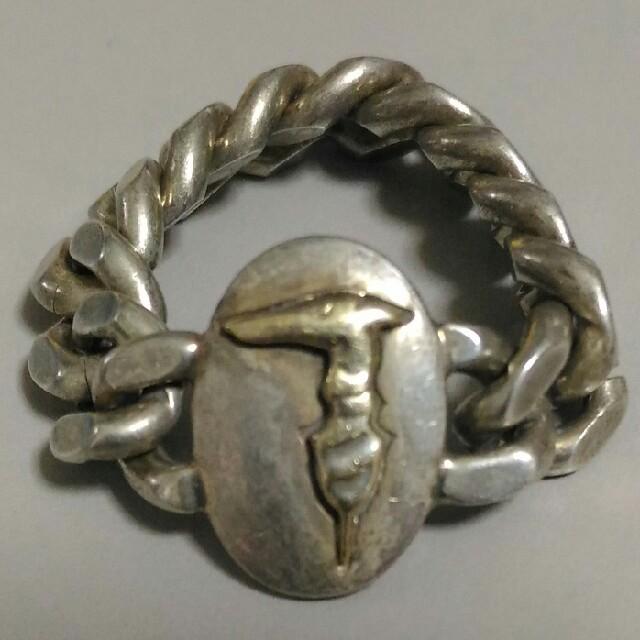 Trussardi(トラサルディ)のTRUSSARDI 18金チェーンリング レディースのアクセサリー(リング(指輪))の商品写真