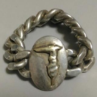 トラサルディ(Trussardi)のTRUSSARDI 18金チェーンリング(リング(指輪))