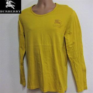 バーバリー(BURBERRY)のバーバリー◆ロングカットソー◆キャメル (Tシャツ/カットソー(七分/長袖))