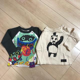 ブリーズ(BREEZE)の【ラブレボ&BREEZE】2枚セット サイズ90(Tシャツ/カットソー)