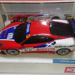 フェラーリ(Ferrari)の京商ミニッツレーサー フェラーリ F430 GT スクーデリア エコッセ2008(ホビーラジコン)