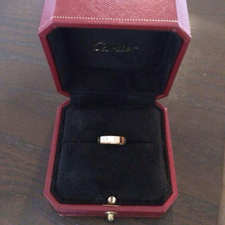 カルティエ(Cartier)のカルティエ♡ミニラブリング(リング(指輪))