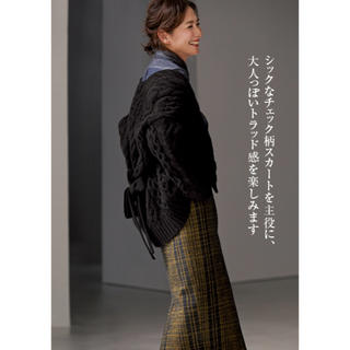 デミルクスビームス(Demi-Luxe BEAMS)のAK +1  EFFE  beams タイトスカート(ロングスカート)