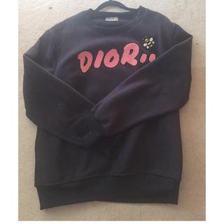 ディオール(Dior)のDIOR★新作トレーナー紺色M男女兼用(トレーナー/スウェット)