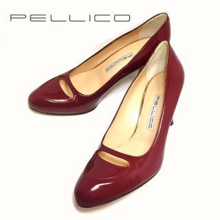 ペリーコ(PELLICO)の大人気♪♪ PELLICO*アネッリ*23.5cm*ワインレッドパンプス(ハイヒール/パンプス)
