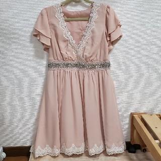CECIL McBEE - 【定価約9000円】【未使用】セシルマクビー ピンク ドレス ワンピース