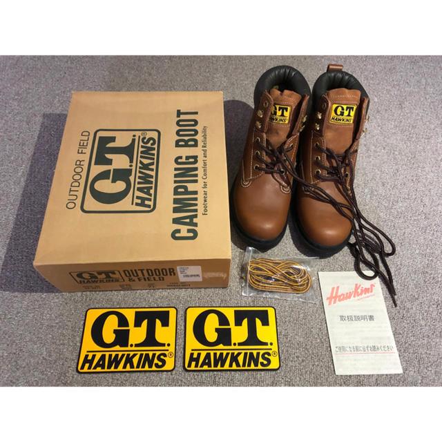 G.T. HAWKINS(ジーティーホーキンス)のGTホーキンス  キャンピング ブーツ スポーツ/アウトドアのアウトドア(その他)の商品写真