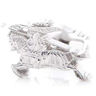 バーバリー(BURBERRY)のバーバリー BURBERRY カフスボタン 3977074-silver(カフリンクス)