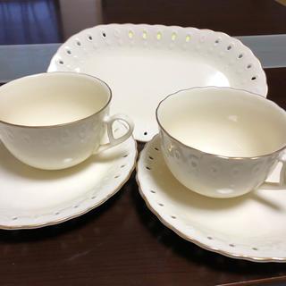 ジバンシィ(GIVENCHY)の【最終値下げ★】GIVENCHY コーヒーカップアンドソーサー、プレート(食器)