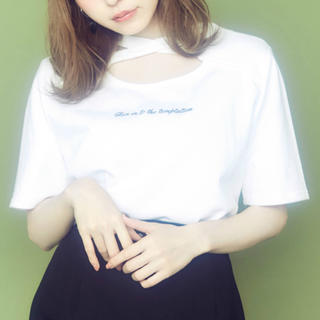 イートミー(EATME)のEATME クロスロゴTシャツ(Tシャツ(半袖/袖なし))