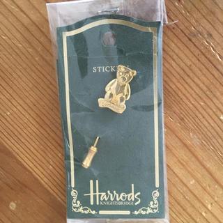 ハロッズ(Harrods)の♪値下げ♪  ハロッズ  Harrods  ベア  ピンブローチ(ブローチ/コサージュ)
