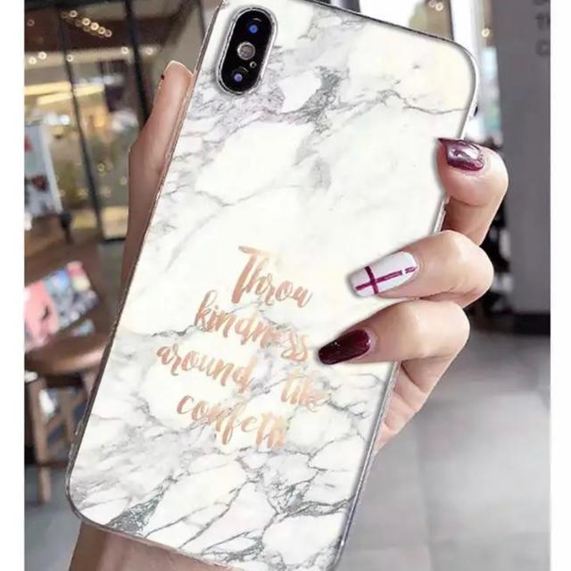 iphone6.6s.X.XRケース大理石柄大人おしゃれカバーの通販 by クローゼット|ラクマ