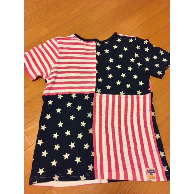 rough(ラフ)のrough アメリカ国旗柄 レディースのトップス(Tシャツ(半袖/袖なし))の商品写真