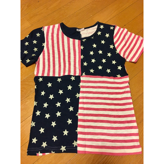 ラフ(rough)のrough アメリカ国旗柄(Tシャツ(半袖/袖なし))