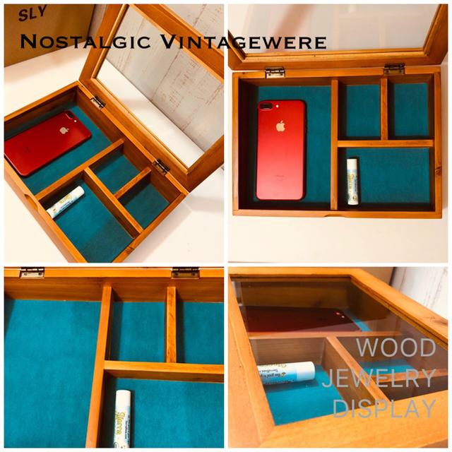 SLY(スライ)のアクセサリーケース SLY WOOD JEWELRY DISPLAY 未使用品 インテリア/住まい/日用品のインテリア小物(小物入れ)の商品写真