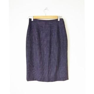 ラルフローレン(Ralph Lauren)のラルフローレン  小さなドットのスカート(ひざ丈スカート)