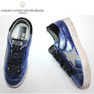 ゴールデングース(GOLDEN GOOSE)のGolden Gooseゴールデングース USED加工本革スニーカー37(スニーカー)