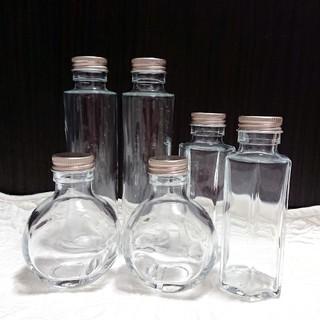 ハーバリウムボトル   6本詰め合わせ(その他)