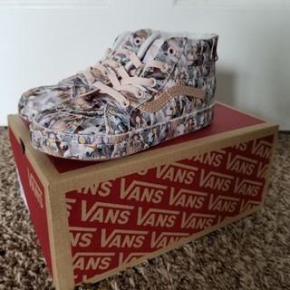 ヴァンズ(VANS)の未使用。日本未発売。molo x vans sk-8 Hi molo kids(スニーカー)