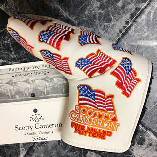 スコッティキャメロン(Scotty Cameron)のパターヘッドカバー  S.CAMERON THE U.S.A.  【新品未使用】(その他)