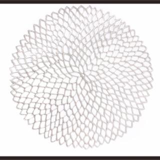 フランフラン(Francfranc)のランチョマット  シルバー ダリヤ チルウィッチ風 4枚セット(テーブル用品)