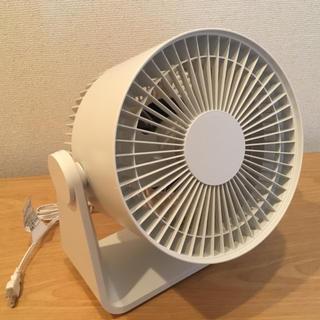 ムジルシリョウヒン(MUJI (無印良品))の無印良品 サーキュレーター(低騒音ファン) ホワイト (サーキュレーター)