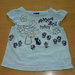 27db4e939e2e4 アナスイミニ(ANNA SUI mini)のANN SUI 半袖Tシャツ 80(T