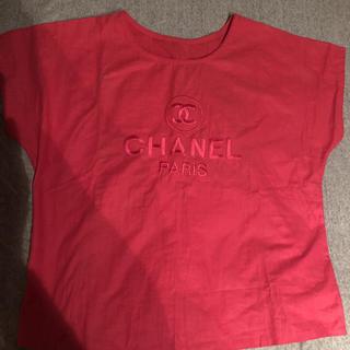 シャネル(CHANEL)の値下げ!シャネルデザインシャツ(シャツ/ブラウス(半袖/袖なし))