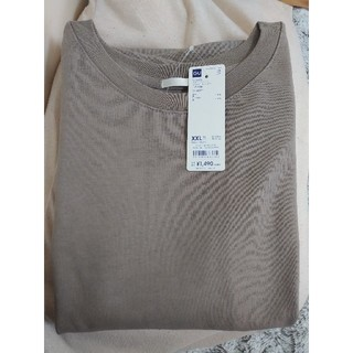 ジーユー(GU)のヘビーウェイトオーバーサイズT 5分袖(カットソー(長袖/七分))